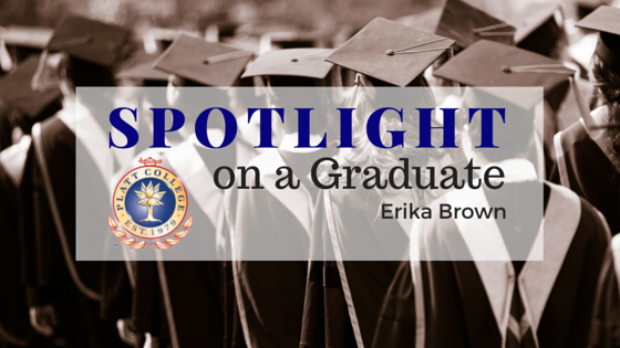 Spotlight on a Graduate: Erika Brown