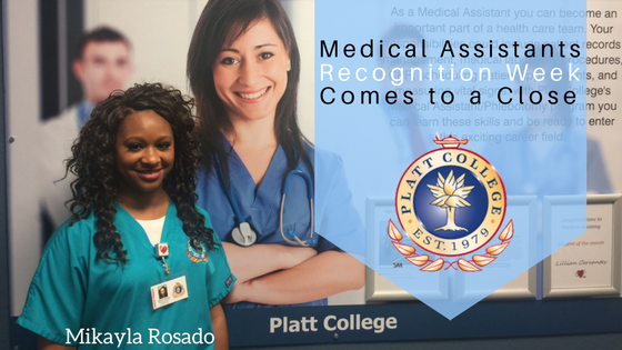 Medical Assistants Recognition Week Comes to a Close